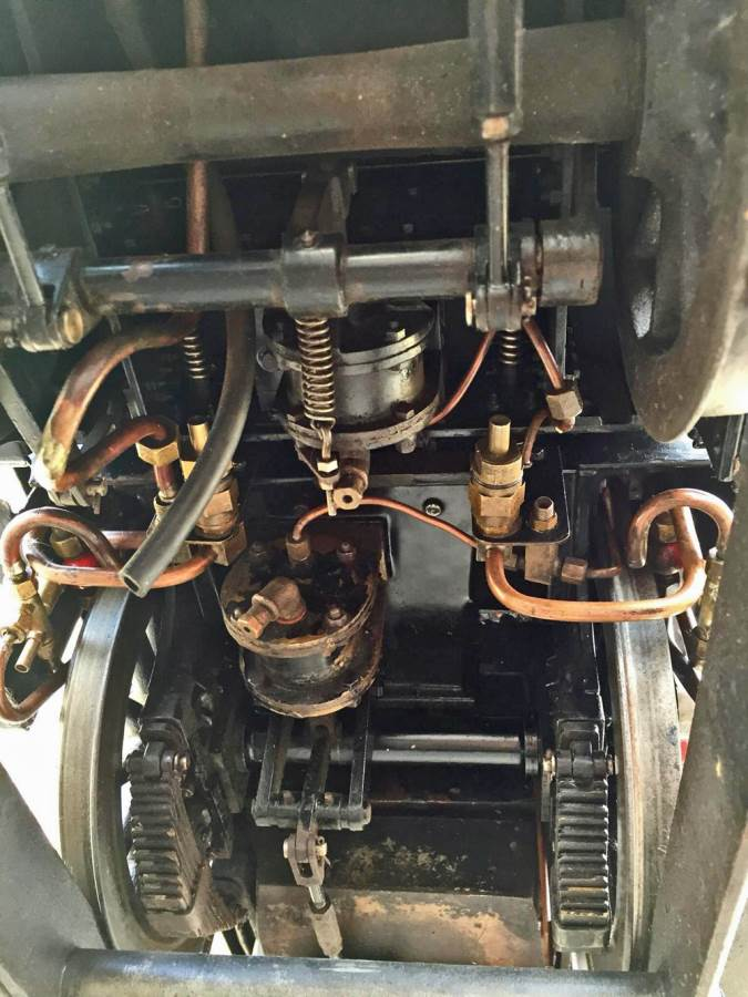 test 7 and a quarter GER J15 live steam for sale (18)