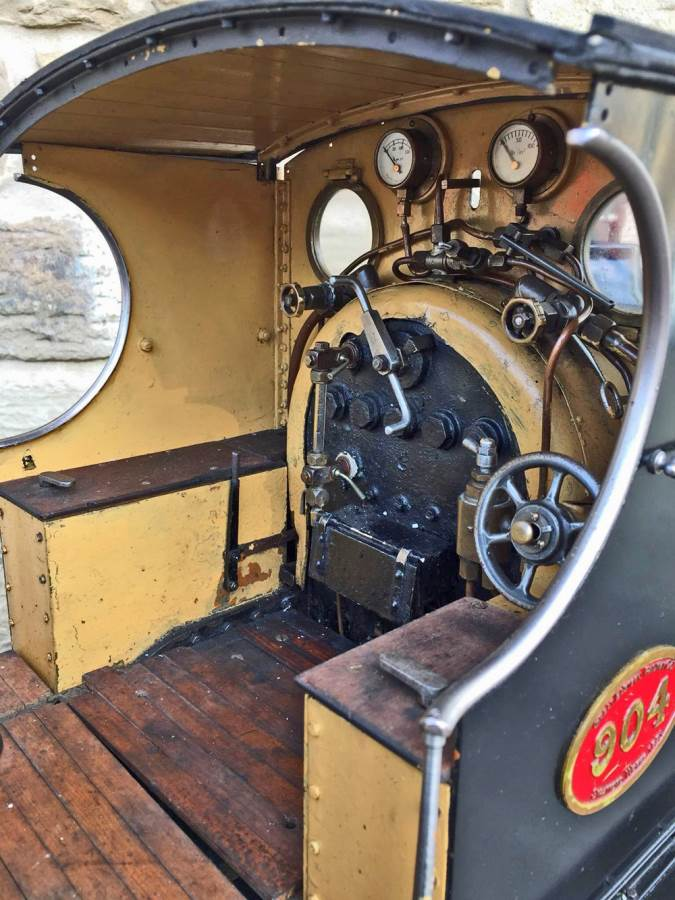 test 7 and a quarter GER J15 live steam for sale (23)