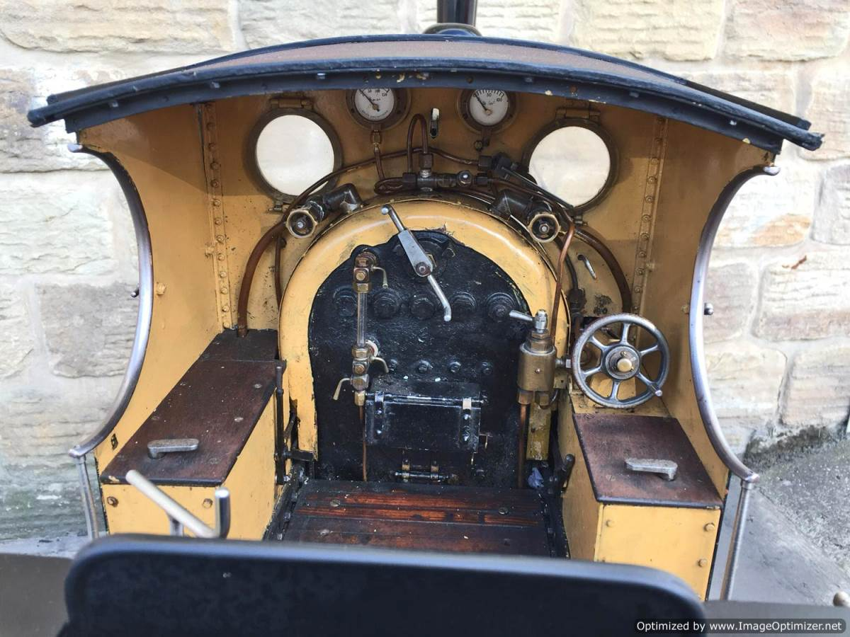 test 7 and a quarter GER J15 live steam for sale (24)