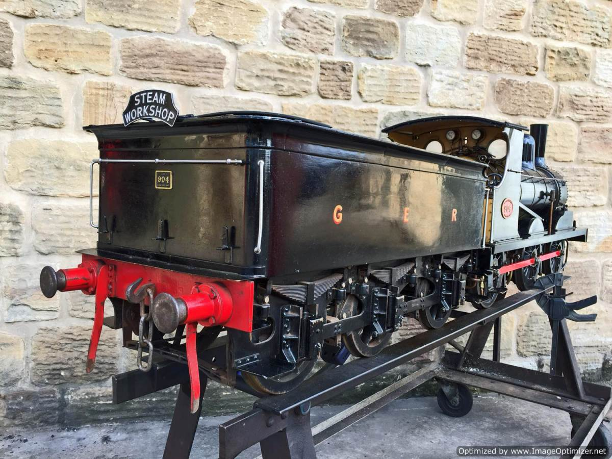 test 7 and a quarter GER J15 live steam for sale (28)