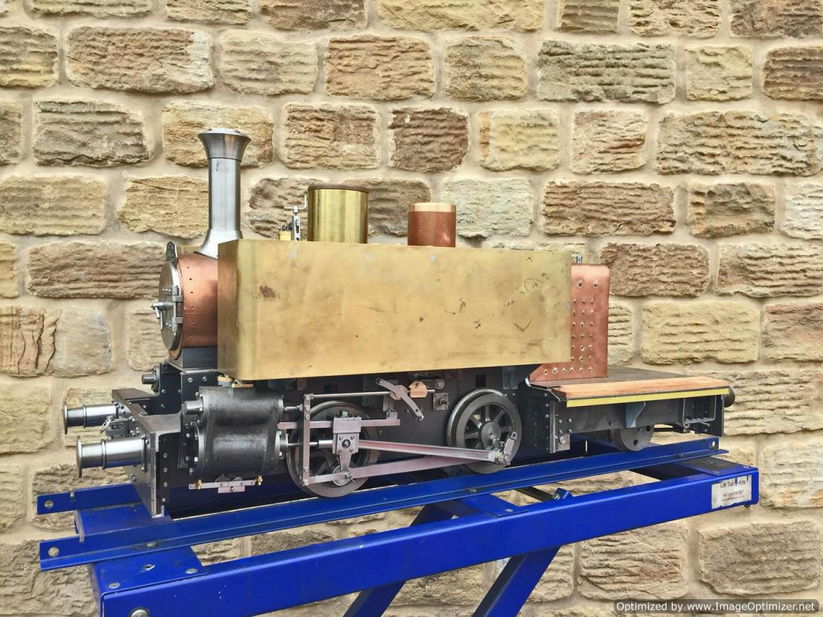test 7 and a quarter inch Tallyllyn Railway Tom Rolt live steam model for sale (1)