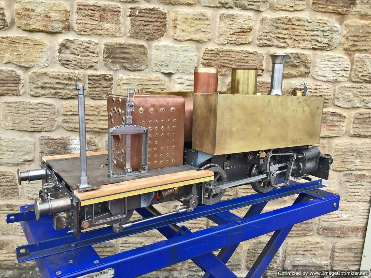 test 7 and a quarter inch Tallyllyn Railway Tom Rolt live steam model for sale (17)