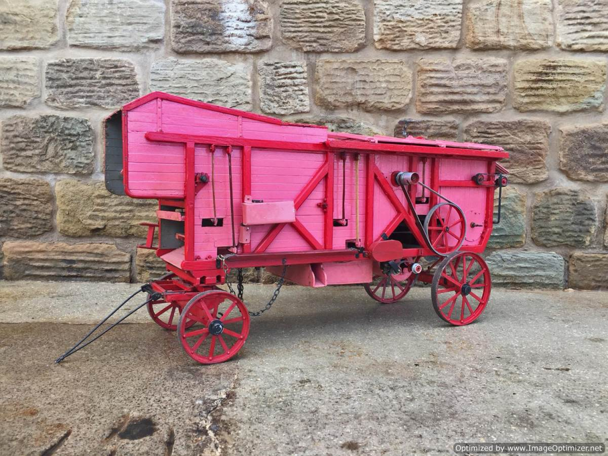 test 2 inch scale Clayton Threshing Machine live Steam for sale (1)