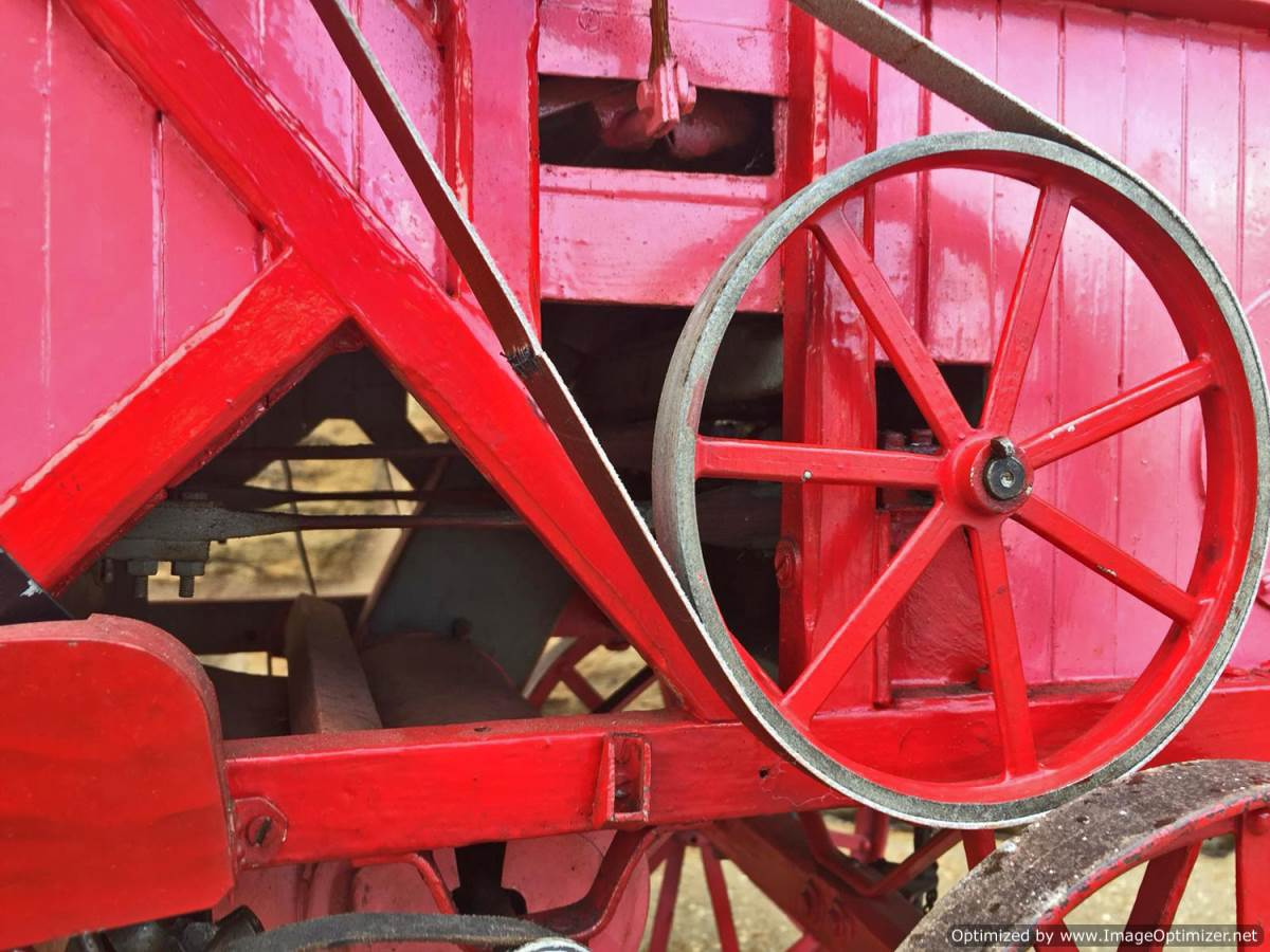 test 2 inch scale Clayton Threshing Machine live Steam for sale (2)