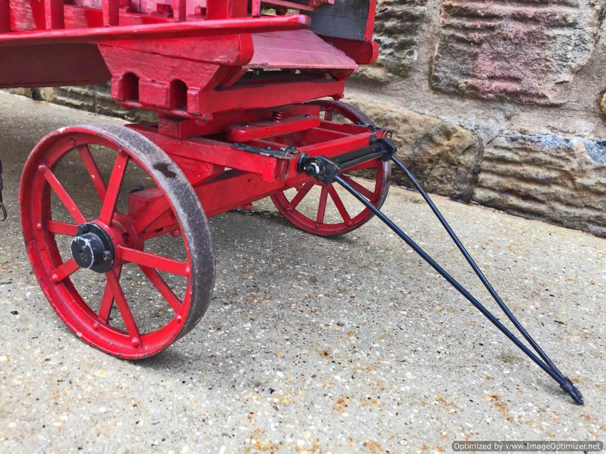 test 2 inch scale Clayton Threshing Machine live Steam for sale (23)