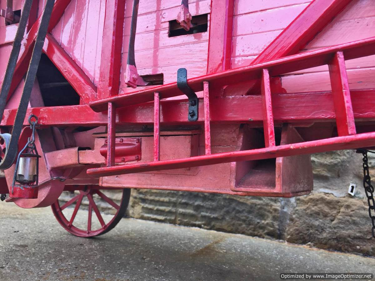 test 2 inch scale Clayton Threshing Machine live Steam for sale (24)