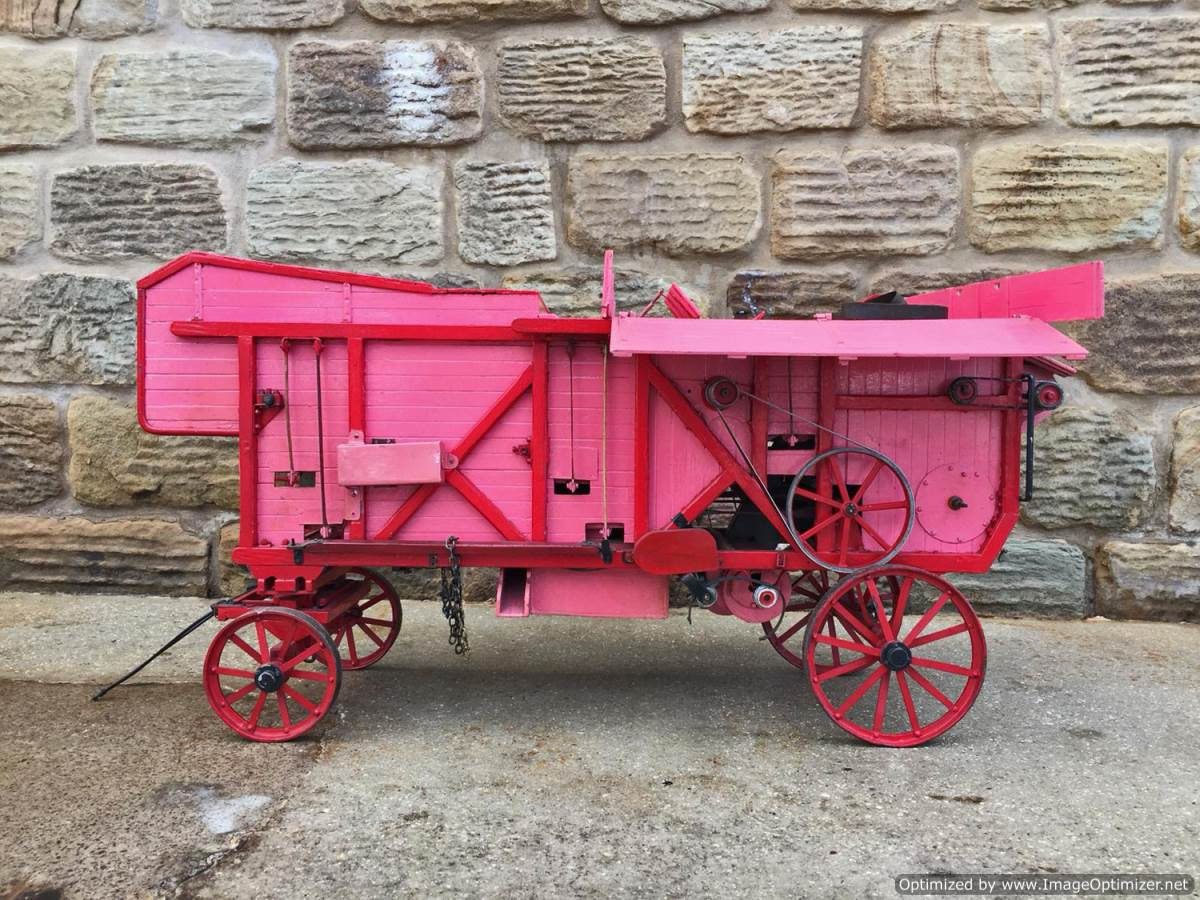 test 2 inch scale Clayton Threshing Machine live Steam for sale (25)