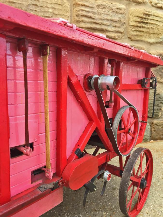 test 2 inch scale Clayton Threshing Machine live Steam for sale (3)