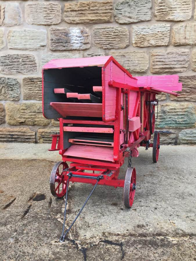test 2 inch scale Clayton Threshing Machine live Steam for sale (6)
