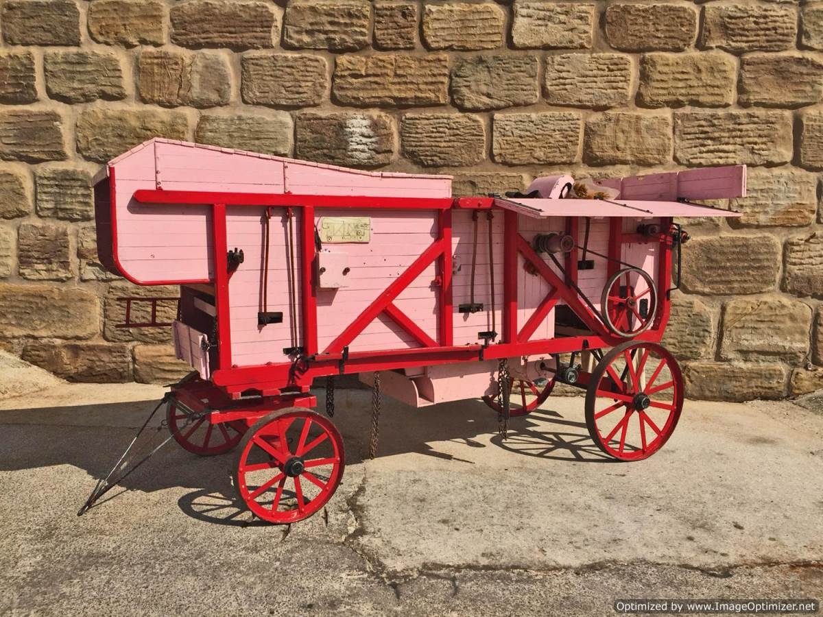 test 3 inch scale Clayton Threshing Machine Live Steam for Sale (1)