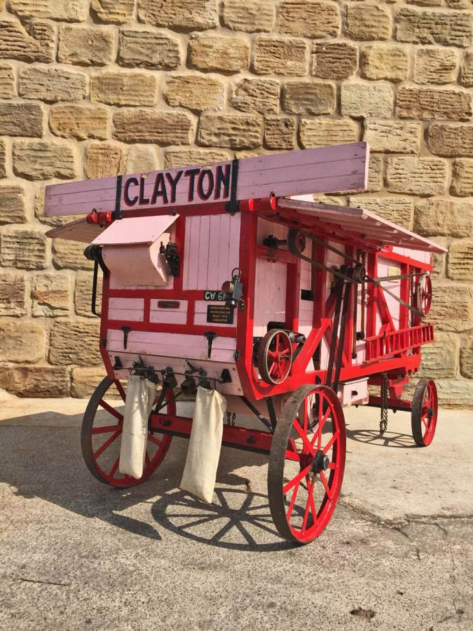 test 3 inch scale Clayton Threshing Machine Live Steam for Sale (14)