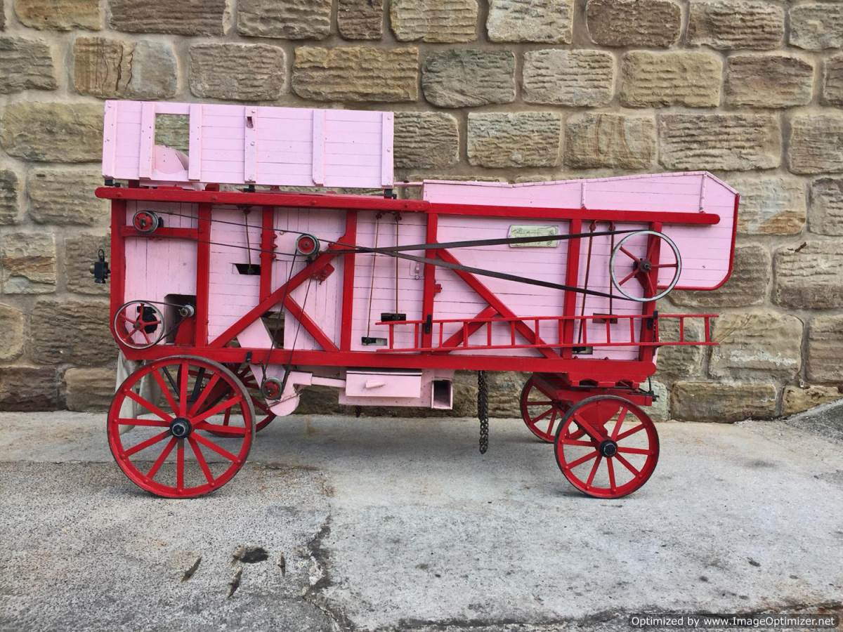 test 3 inch scale Clayton Threshing Machine Live Steam for Sale (21)