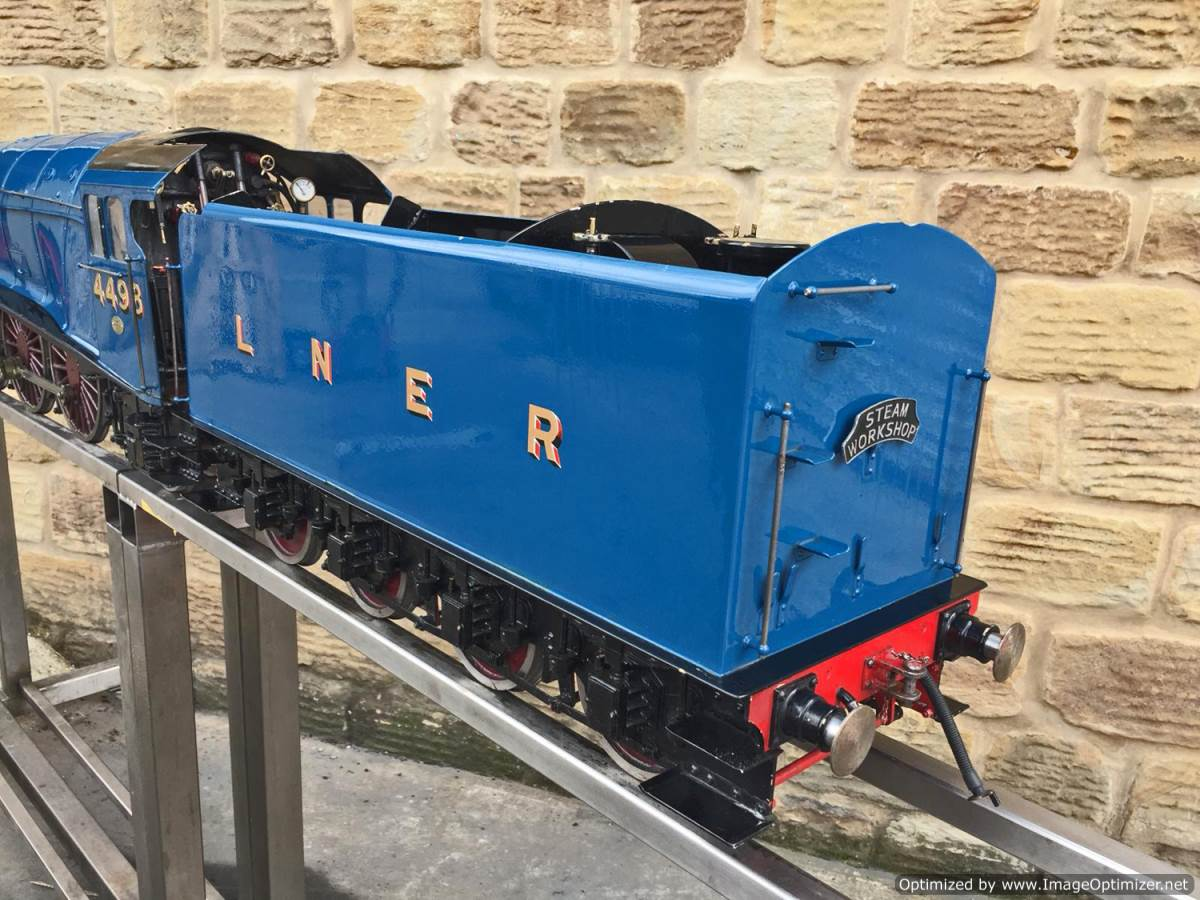 test 5 inch Gauge LNER A4 Sir Nigel Gresley (20)