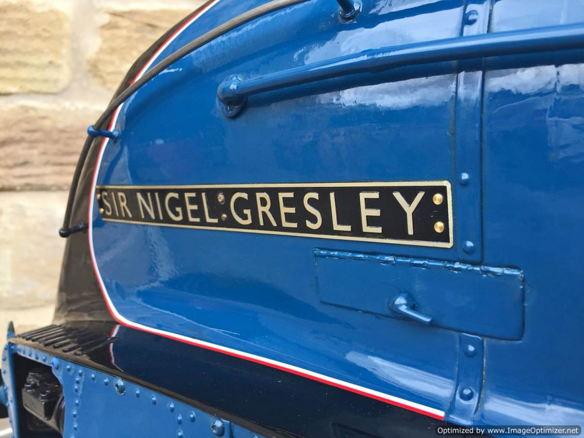 test 5 inch Gauge LNER A4 Sir Nigel Gresley (24)