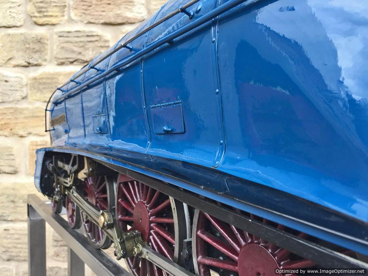 test 5 inch Gauge LNER A4 Sir Nigel Gresley (25)