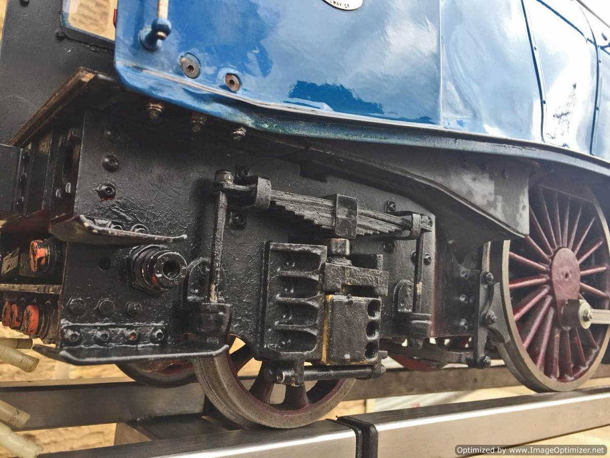 test 5 inch Gauge LNER A4 Sir Nigel Gresley (7)