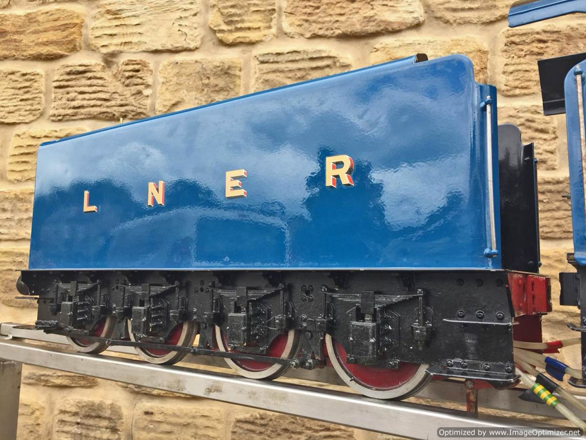 test 5 inch Gauge LNER A4 Sir Nigel Gresley (8)