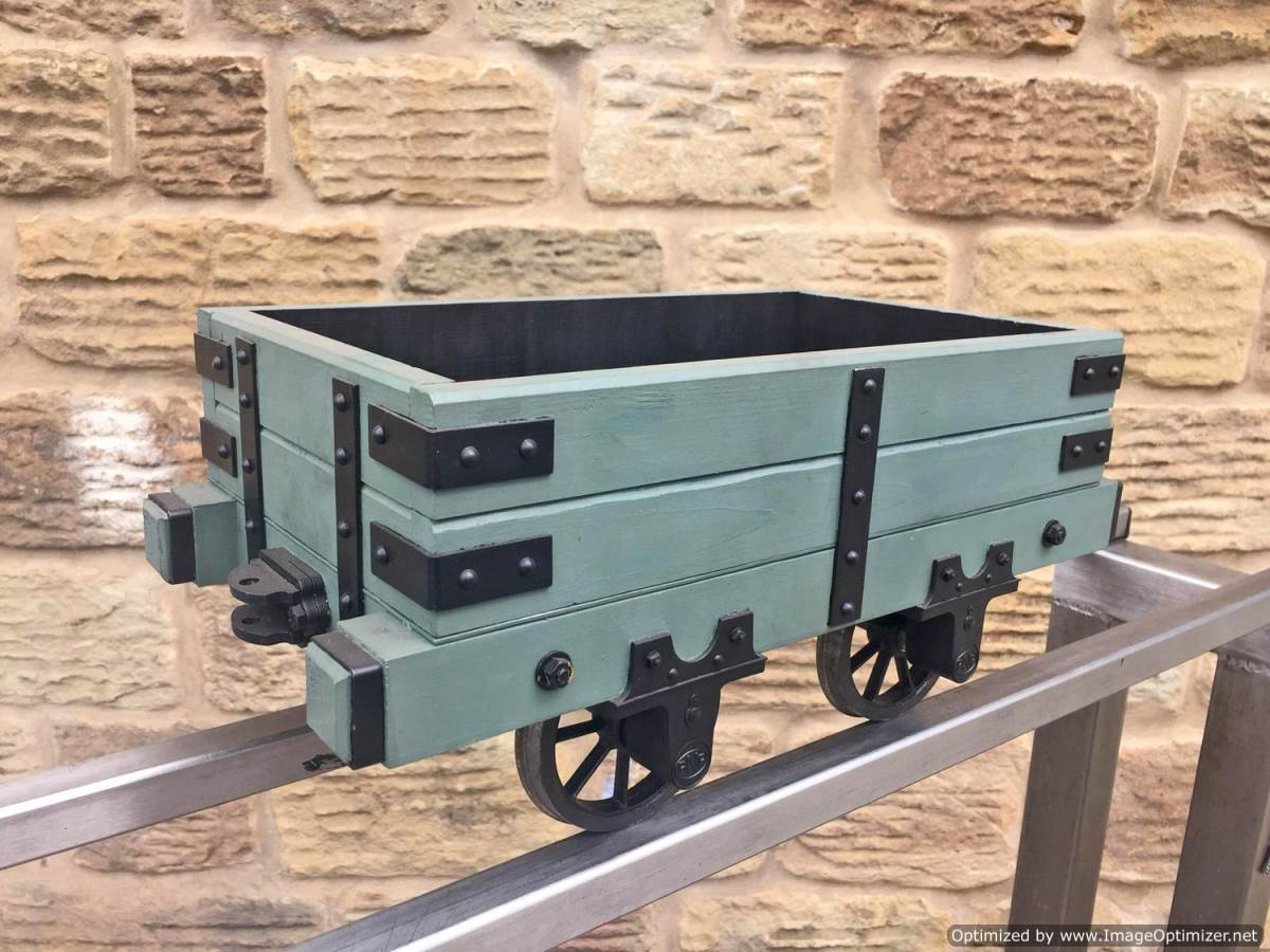 test 5 inch Narrow Gauge Slate Wagon (1)