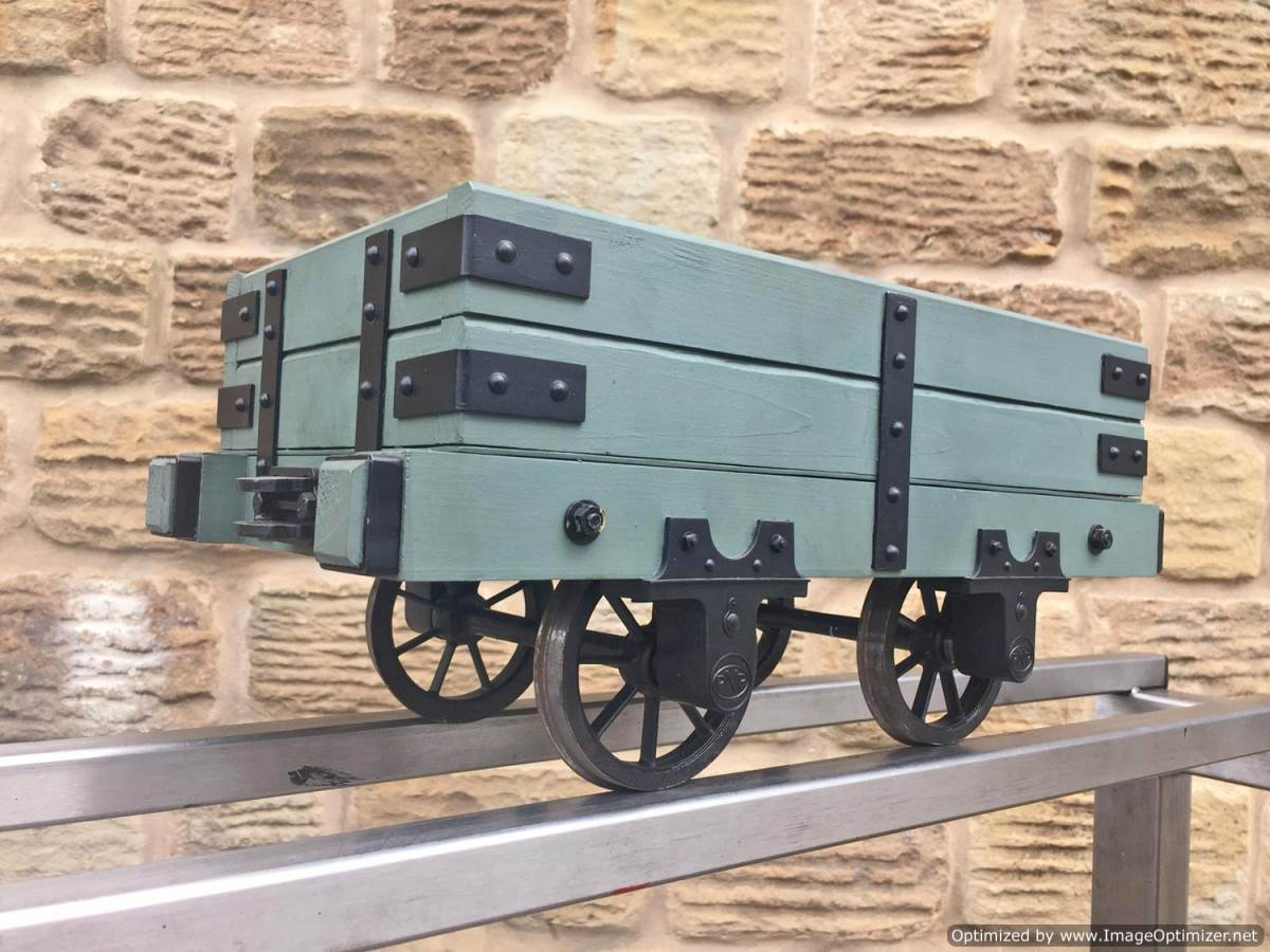 test 5 inch Narrow Gauge Slate Wagon (2)