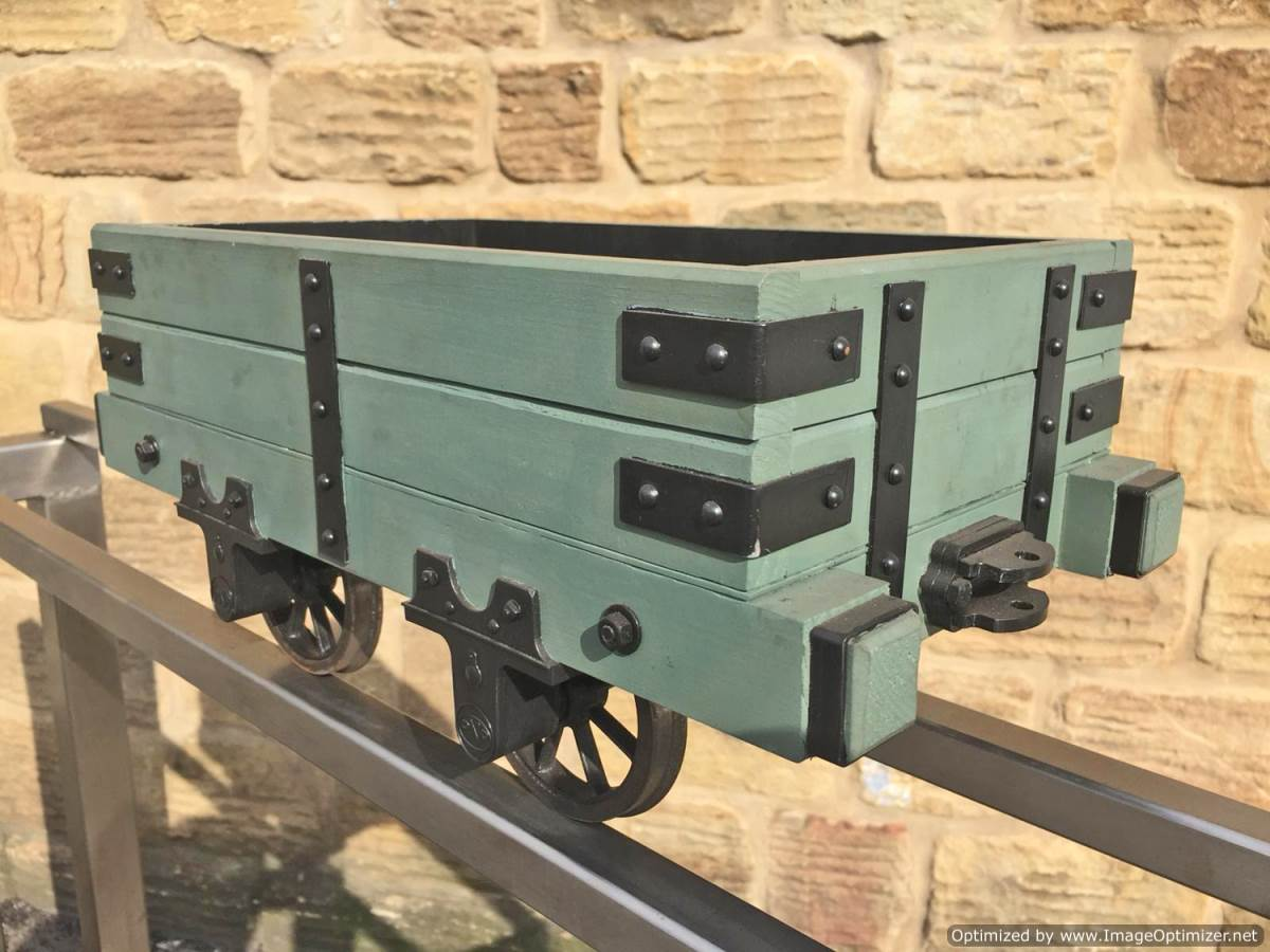 test 5 inch Narrow Gauge Slate Wagon (5)