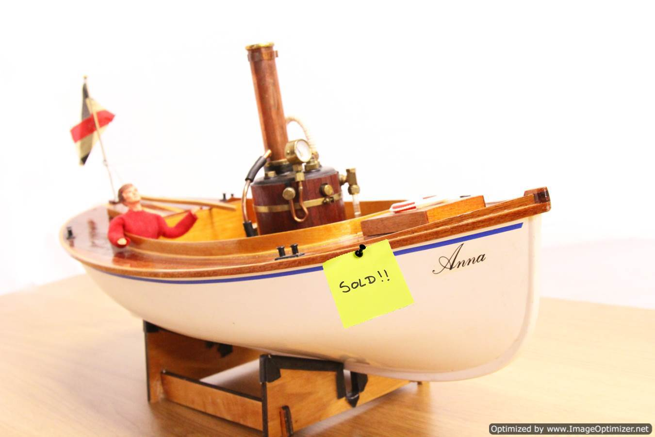 test Anna-Cheddar-steam-boat-live-steam-model-SOLD
