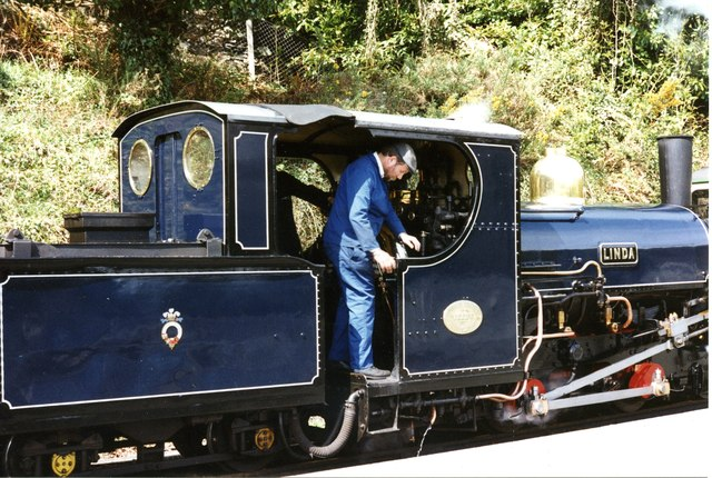 test Penrhyn Quarry Hunslet blue livery 01