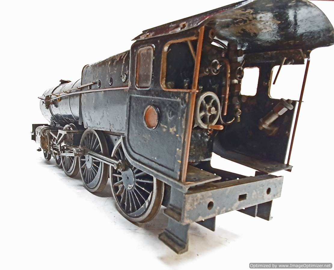 test 2 and a Half inch Gauge Royal Scot live steam for sale (10)