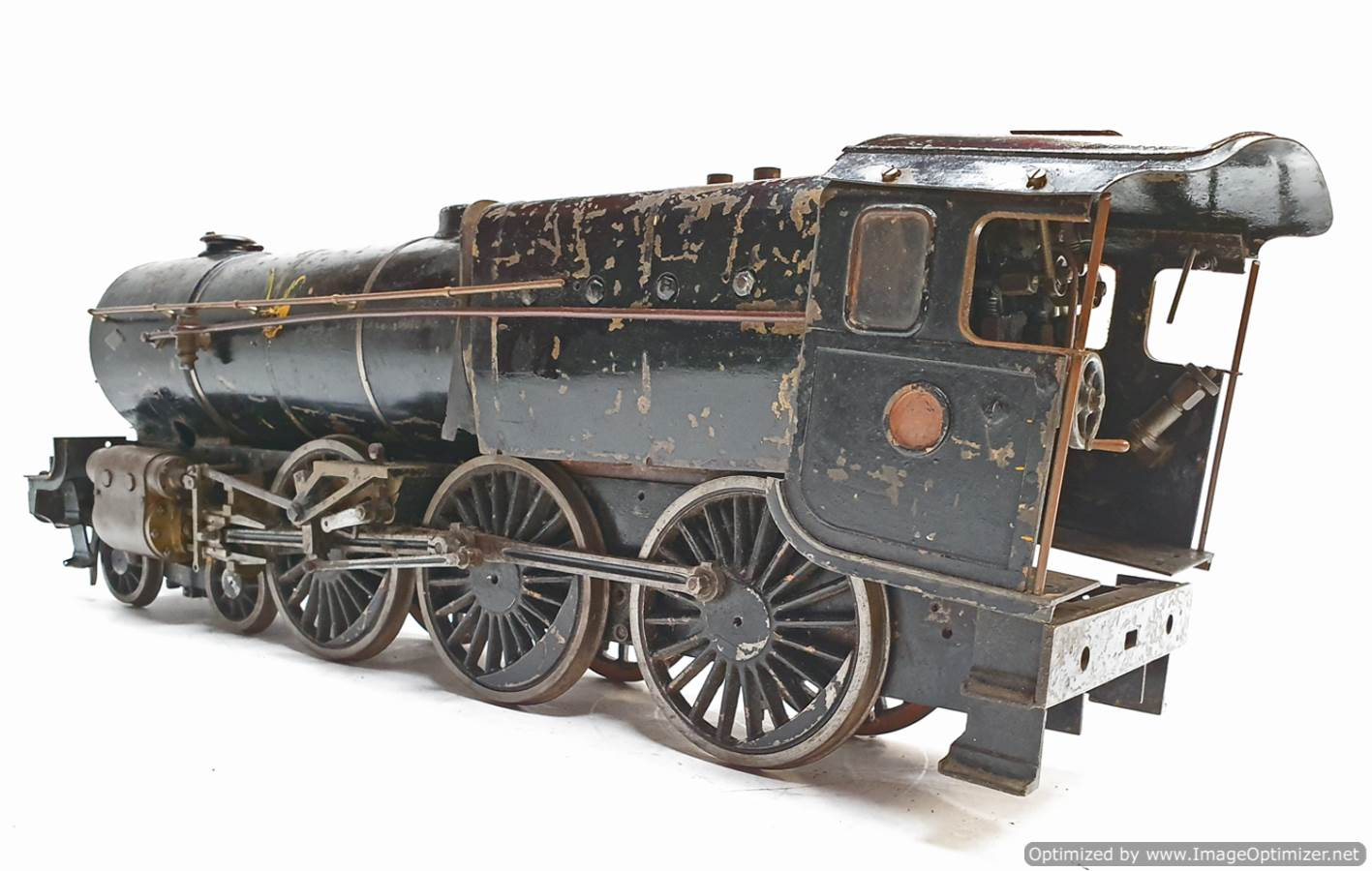 test 2 and a Half inch Gauge Royal Scot live steam for sale (13)