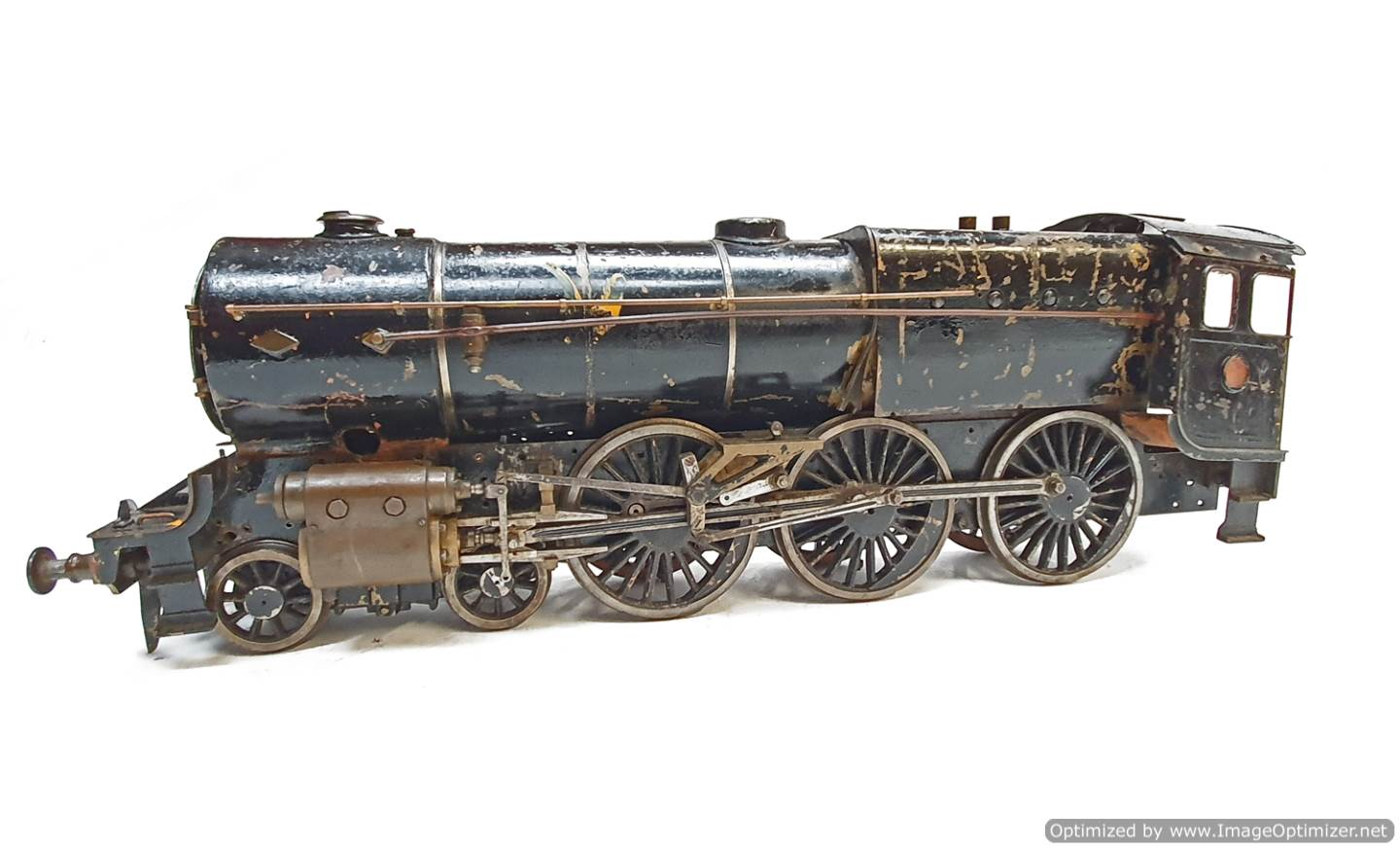 test 2 and a Half inch Gauge Royal Scot live steam for sale (8)