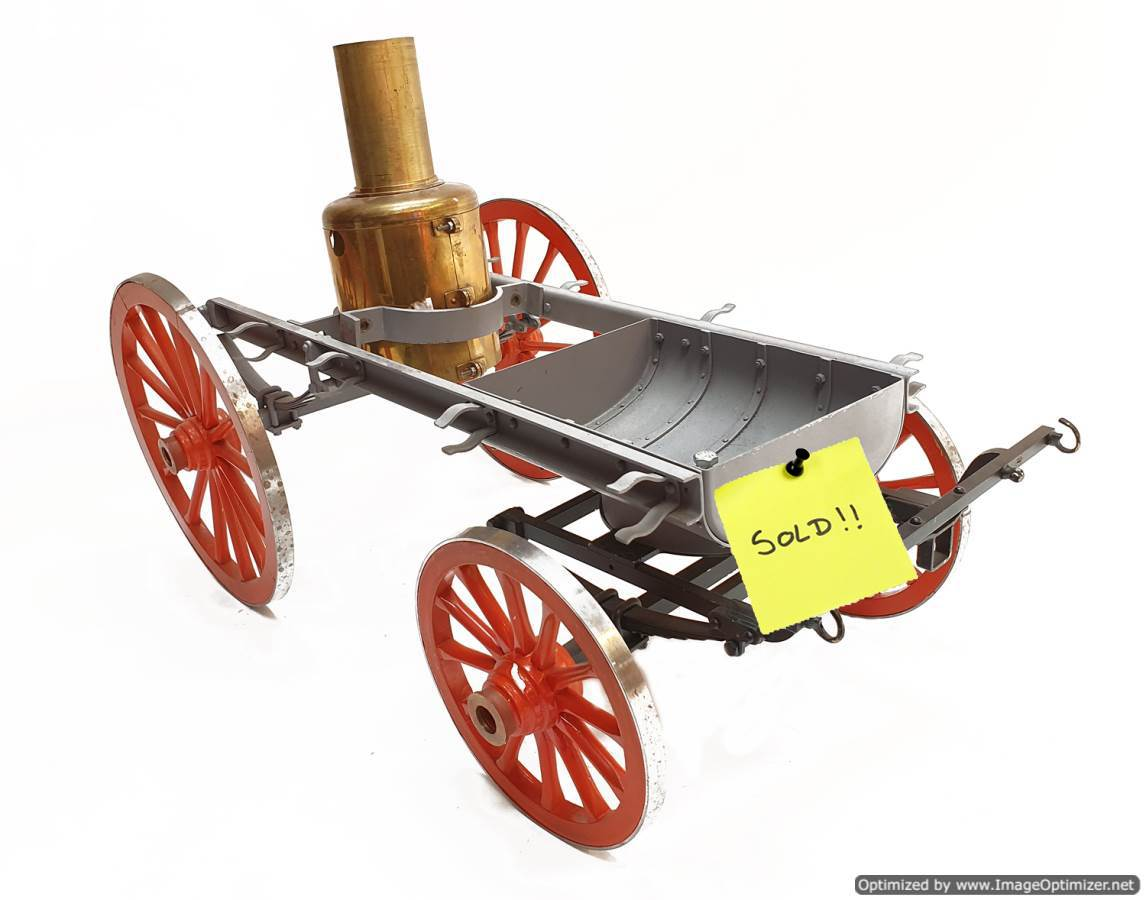test 2-inch-scale-Shand-mason-fire-engine-live-steam-SOLD