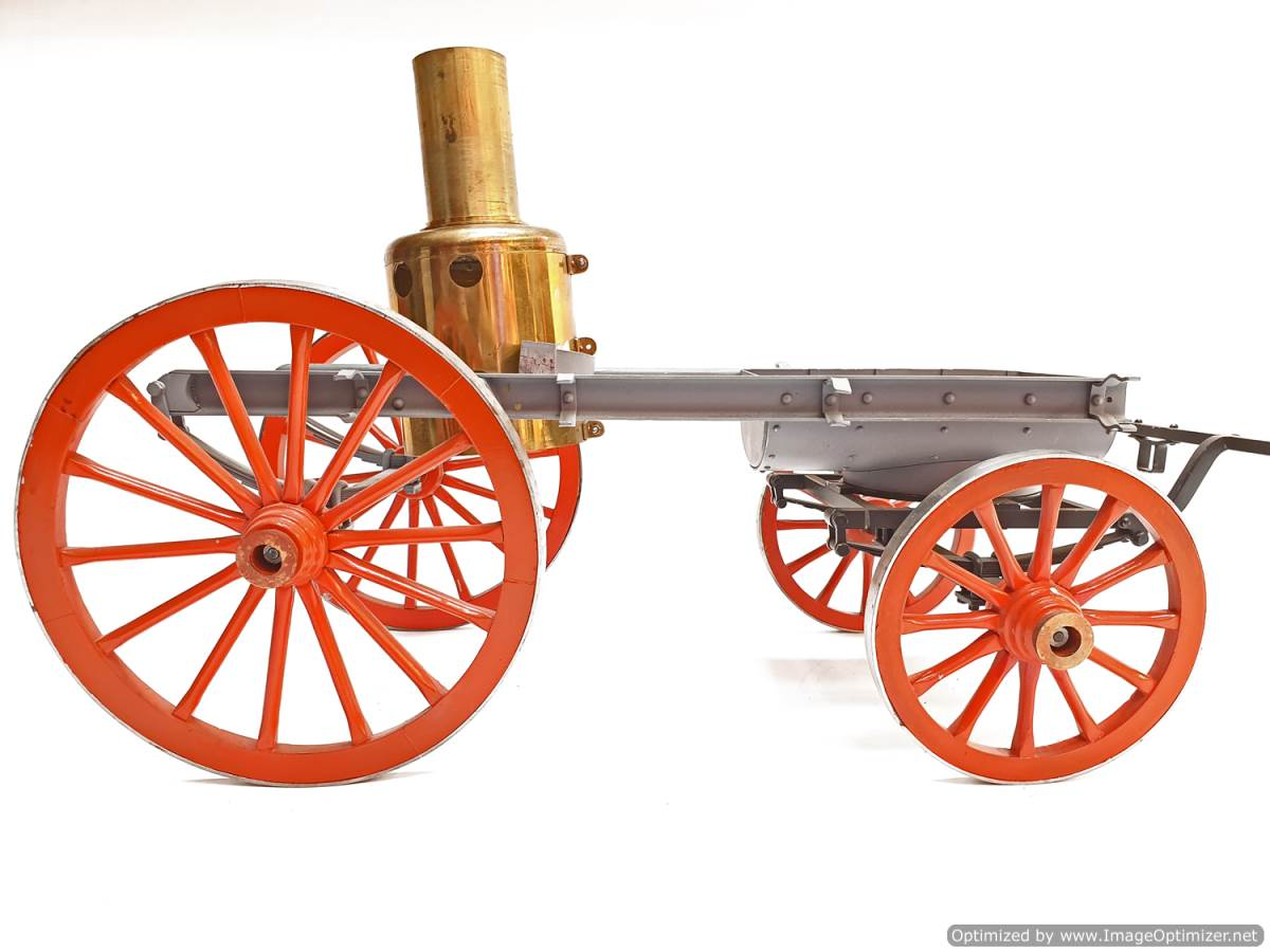test 2 inch scale Shand mason fire engine live steam for sale (1)