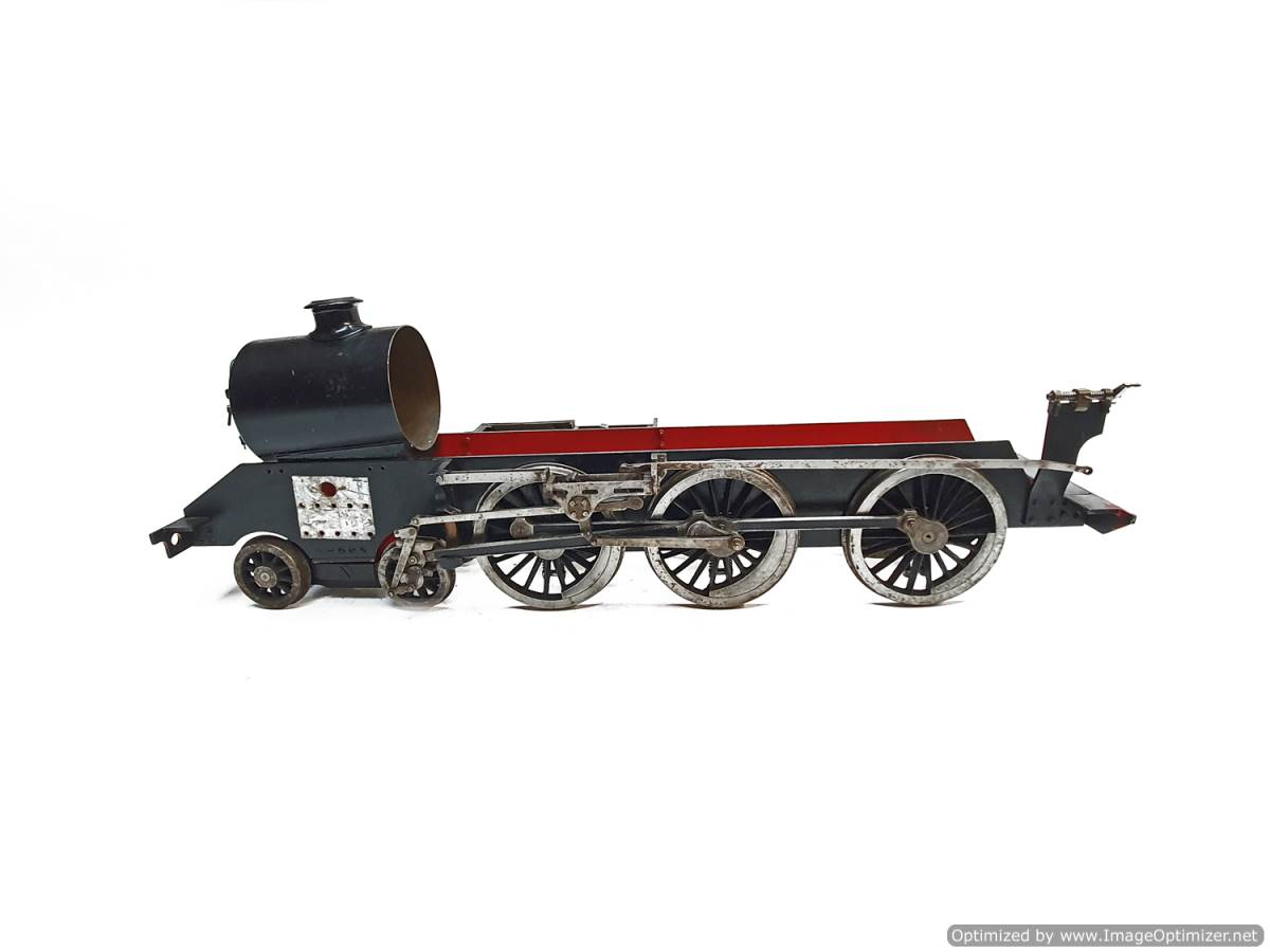 test 3 and a half inch Doris Black 5 live steam for sale (8)