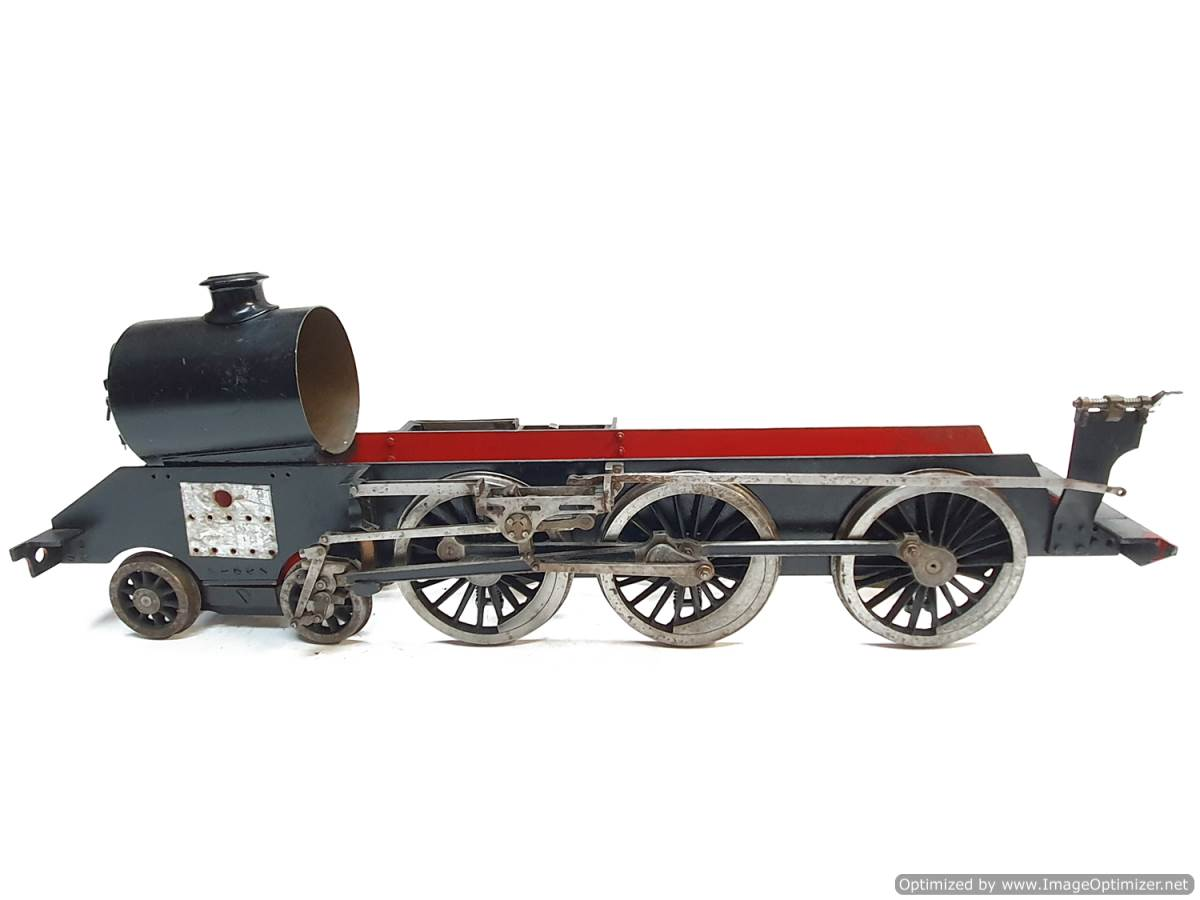 test 3 and a half inch Doris Black 5 live steam for sale (9)