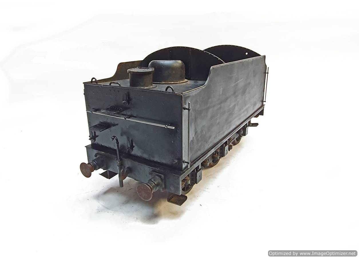 test 5 inch B1 Tender live steam for sale (3)