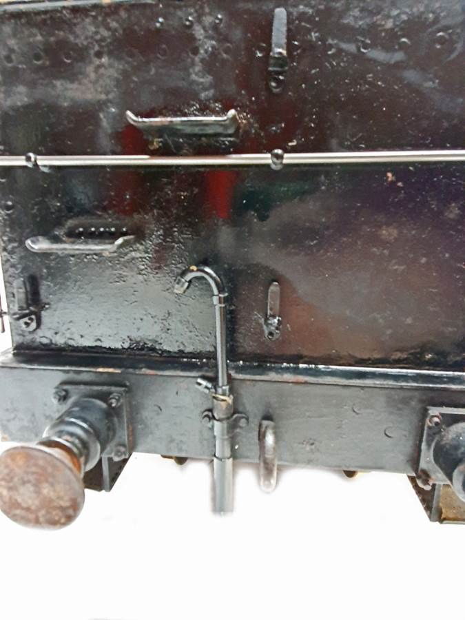 test 5 inch B1 Tender live steam for sale (4)
