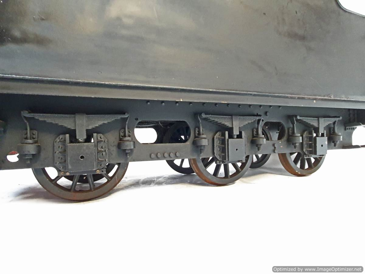 test 5 inch B1 Tender live steam for sale (7)