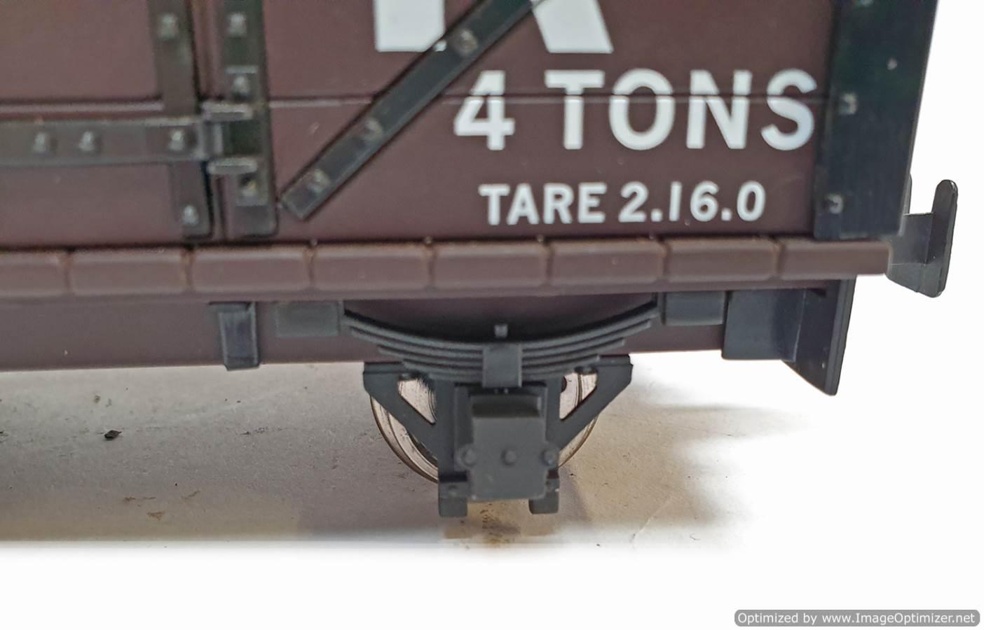 test L&B Open Wagon SR Brown #28309 garden rail live steam for sale (5)