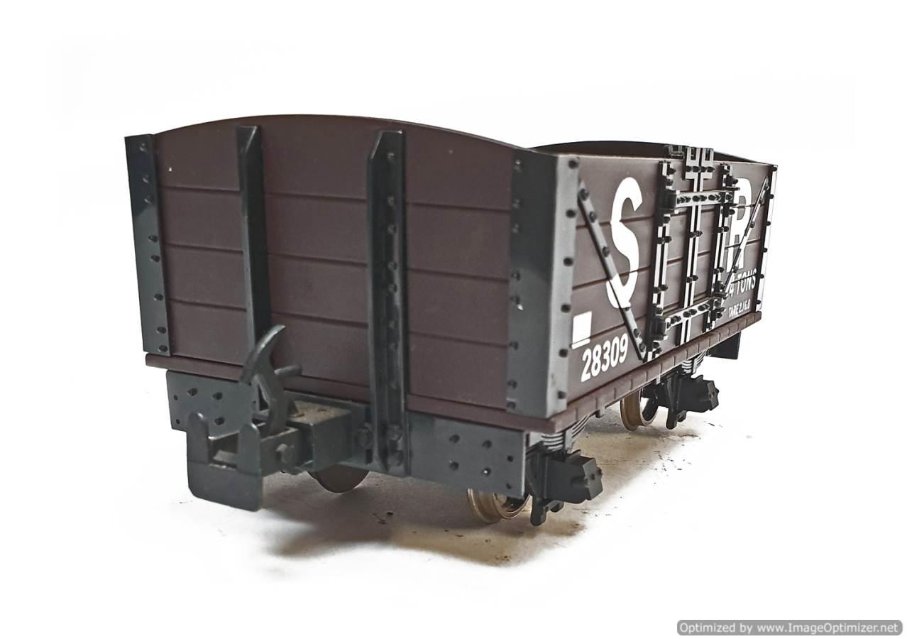 test L&B Open Wagon SR Brown #28309 garden rail live steam for sale (6)