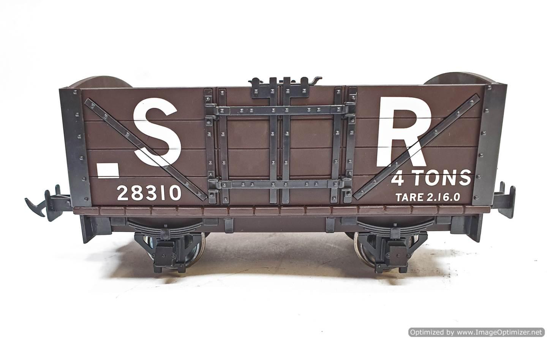 test L&B Open Wagon SR Brown #28310 garden rail live steam for sale (4)