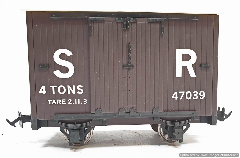 test L&b 4 wheel goods van #47039 garden rail live steam for sale (5)