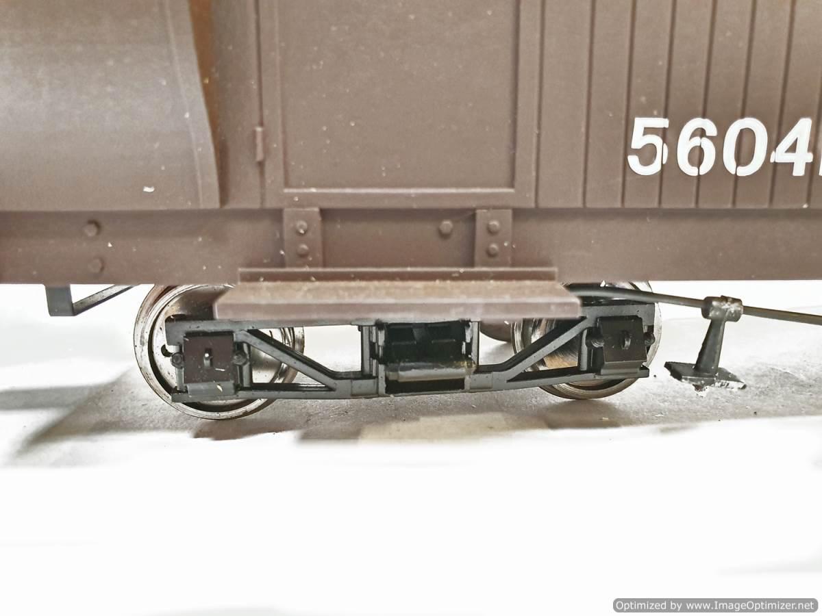 test L&b boogie goods brake van sr brown #56041 garden rail live steam for sale (4)