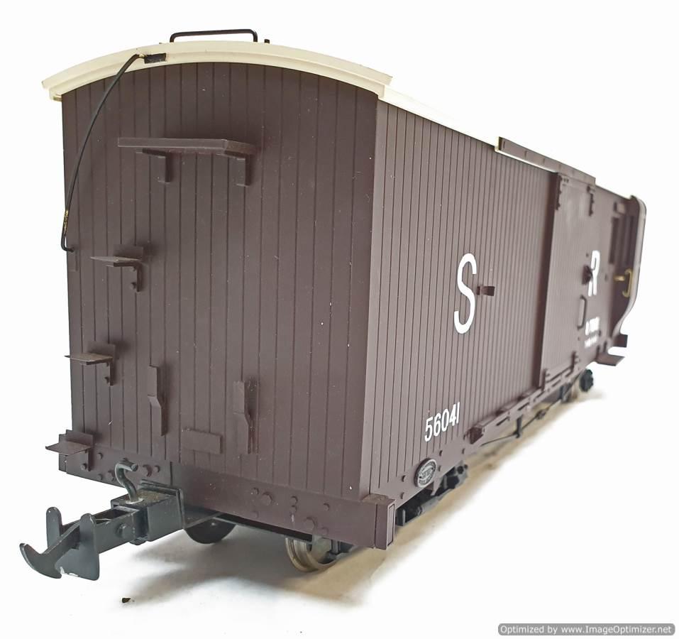 test L&b boogie goods brake van sr brown #56041 garden rail live steam for sale (5)