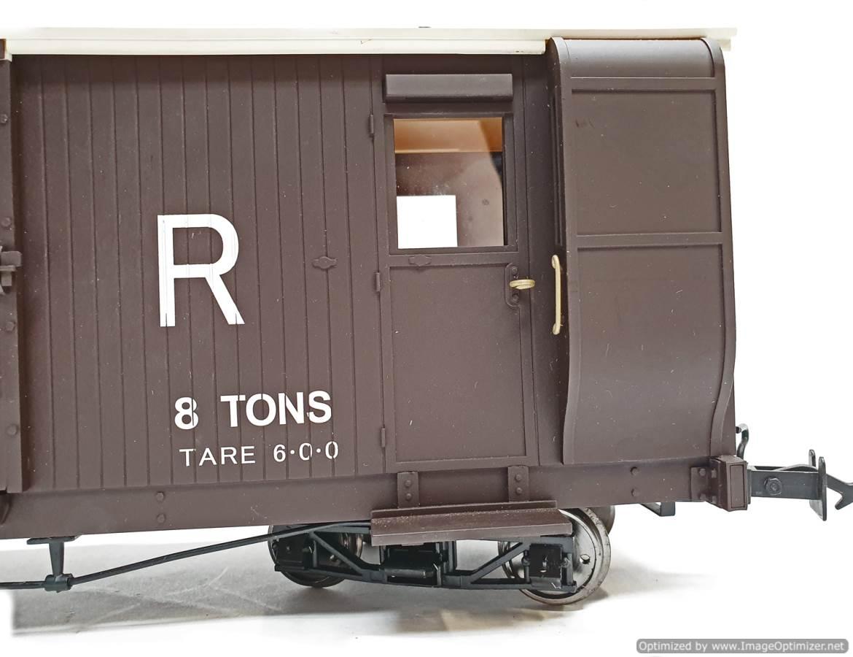 test L&b boogie goods brake van sr brown #56041 garden rail live steam for sale (6)