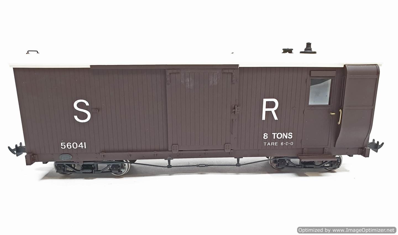 test L&b boogie goods brake van sr brown #56041 garden rail live steam for sale (8)