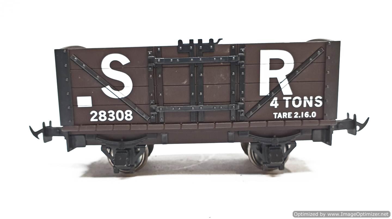 test L&b open wagon sr brown #28308 garden rail live steam for sale (4)