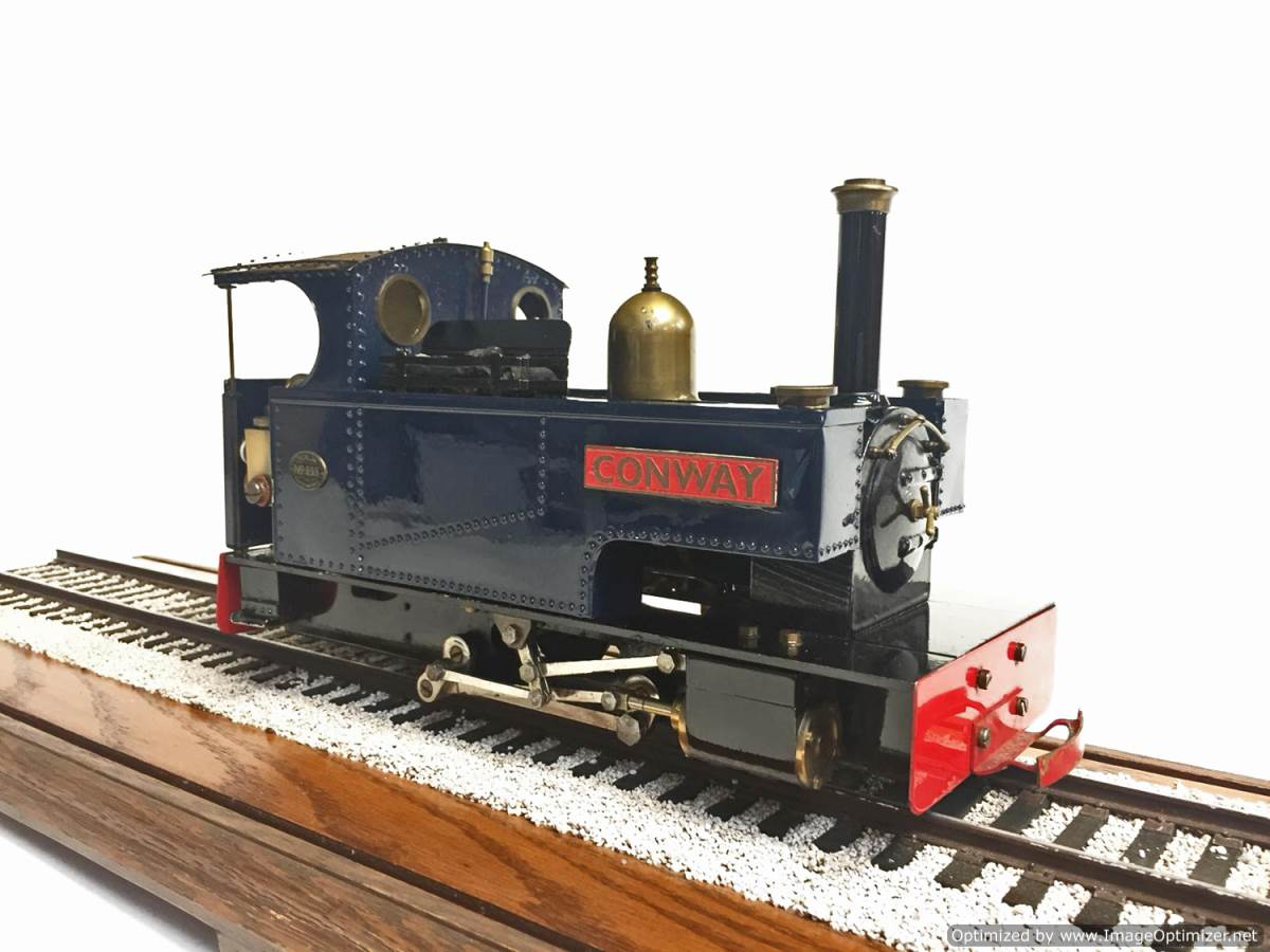test Merlin Monarch Live Steam Garden Railway for Sale (1)