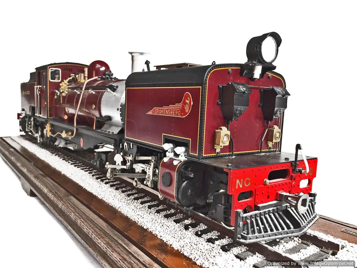 test NG13 Garratt locomotive for sale (2)