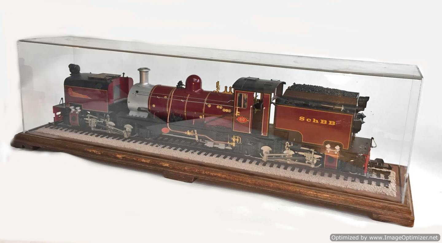 test NG13 Garratt locomotive for sale (22)