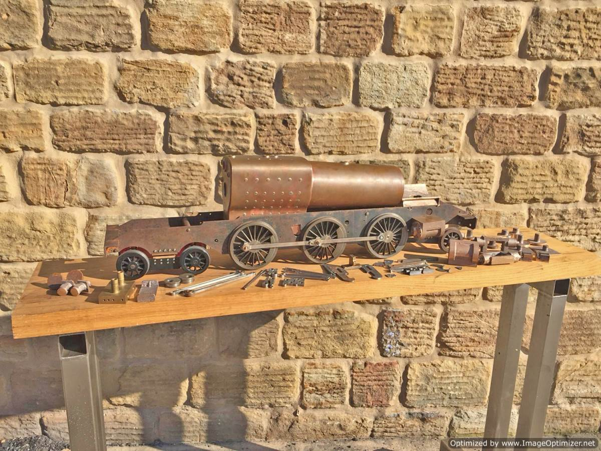 test 3 and a half inch Class 4 Tank Martin Evans Jubilee Live Steam For Sale (1)