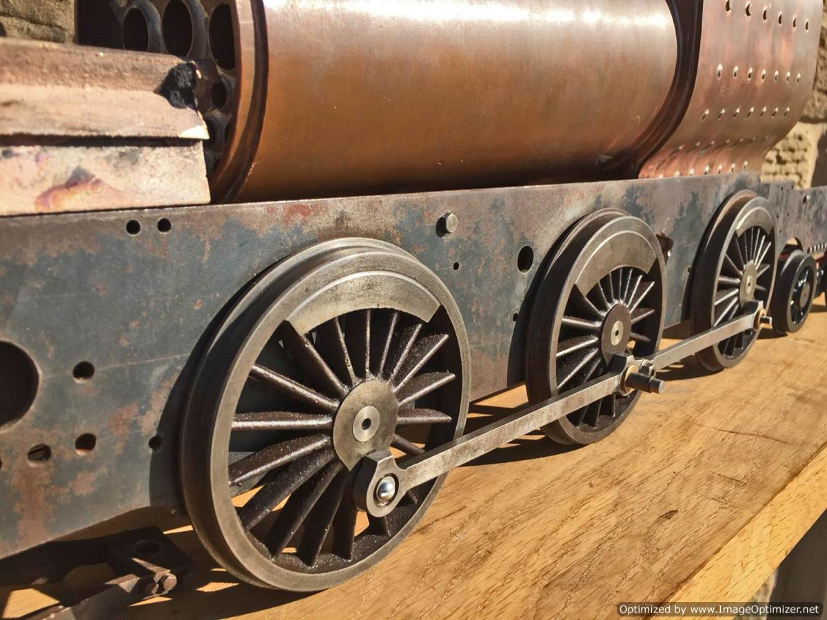 test 3 and a half inch Class 4 Tank Martin Evans Jubilee Live Steam For Sale (15)